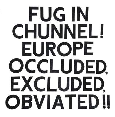 Fug in Chunnel (print)